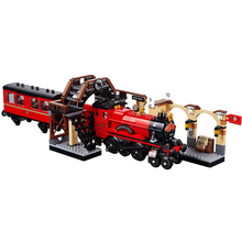Bricks Harry Movies Hogwartsing Express Toys Compatible Legoines 75955 Building Blocks for Children Christmas Gift
