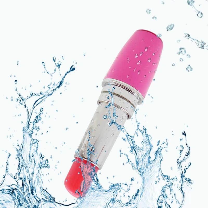 Offre spéciale Mini électrique balle vibrateur masseur rouges à lèvres vibrateur Clitoris stimulateur produit érotique Sex Toys pour femme