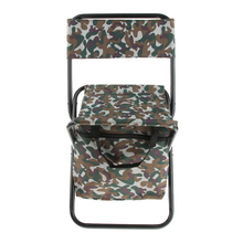 Chair-Stool-Backpack Picnic-Bag Folding Camping Fishing with Cooler Insulated Multi-Purpose