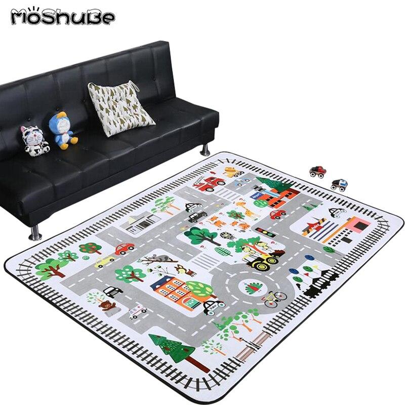Accueil enfants tapis bébé ramper tapis épais bébé tapis salon décor doux tapis plancher anti-dérapant ramper Gym jeu Pad