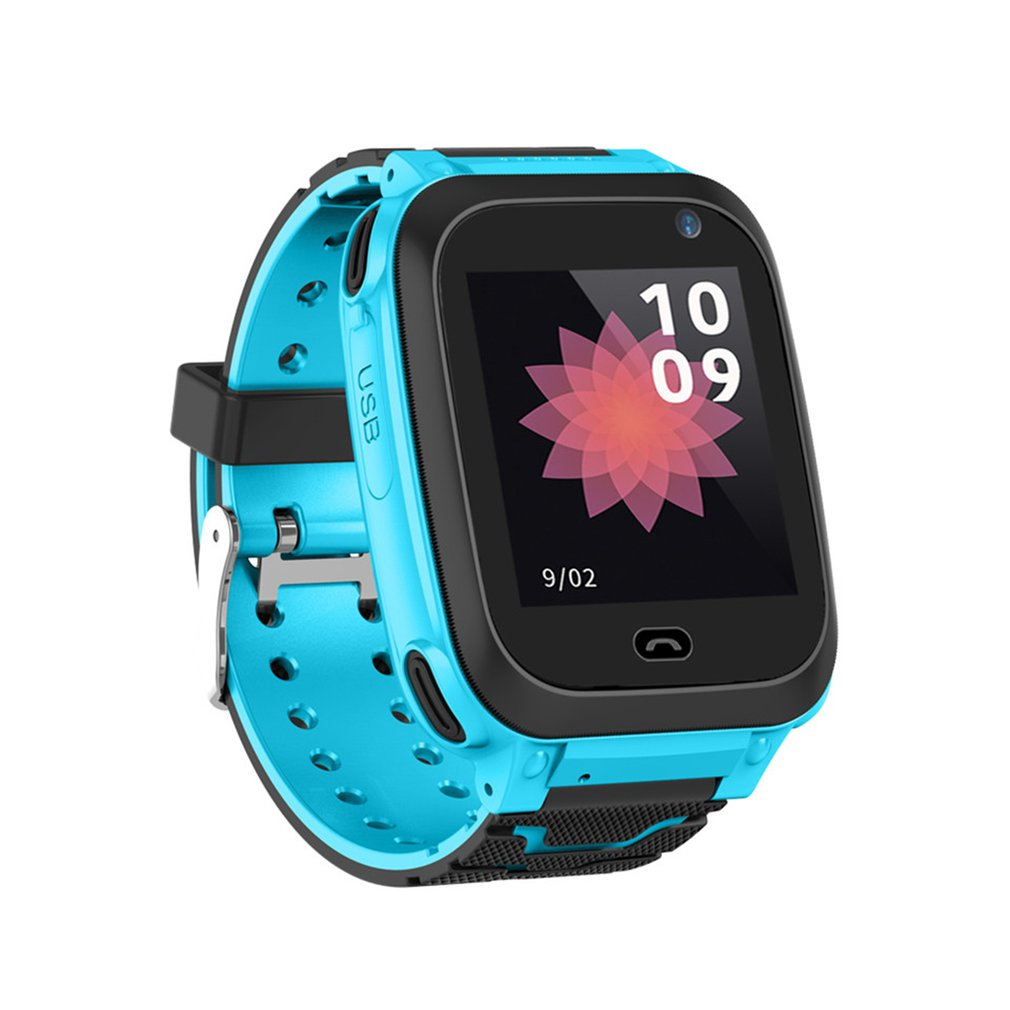 Anti Lost Child GPRS Tracker DS38 watch SOS Positioning Tracking Smart Phone Kids Safe Watch Birthday Gifts for Girls Boys|Children's Watches|   - title=