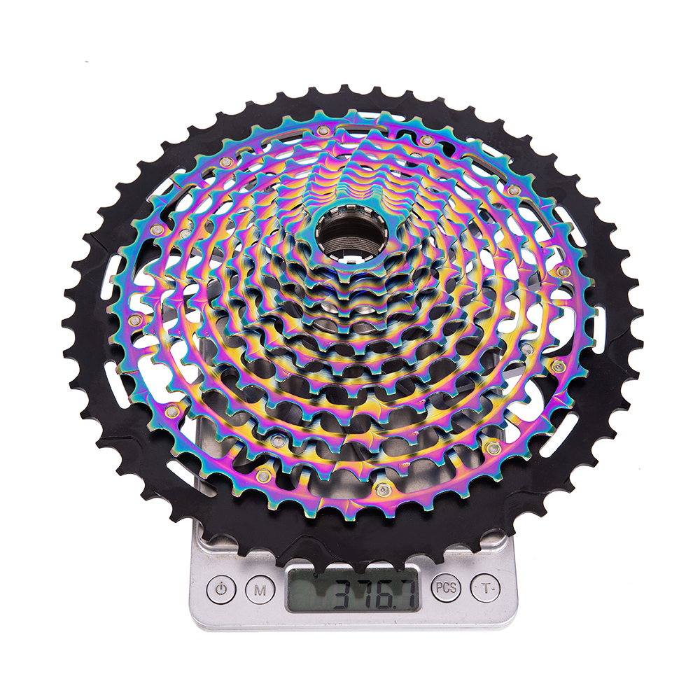 ZTTO Bike Bicycle 11 Speed 11S 9-50T Cassette Flywheel XD Rainbow Ultralight