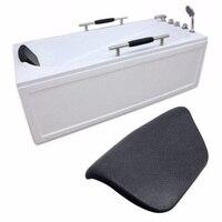 1 шт. подушка для ванны ванной опора для шеи spa шеи Поддержка сзади удобная обувь держатель для ванной подушки PU Противоскользящий коврик для...
