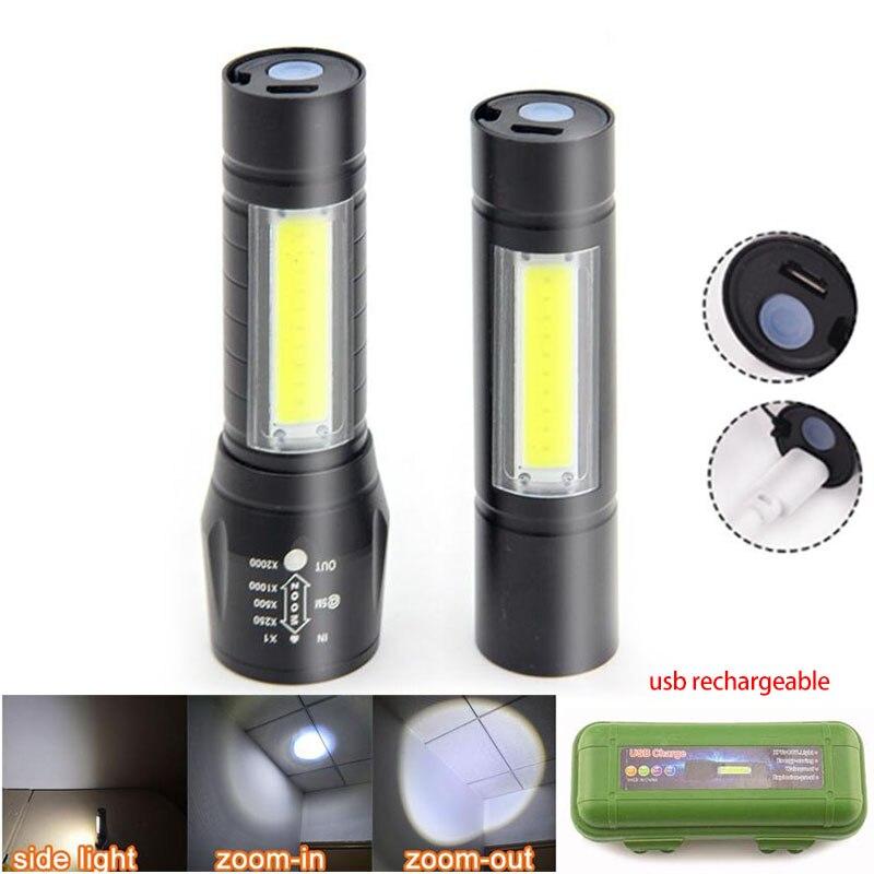 3-in-1 LED linterna con batería luz nocturna luces de emergencia