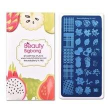 Beautybigbang 6*12 см стемпер для ногтей прямоугольник покровные
