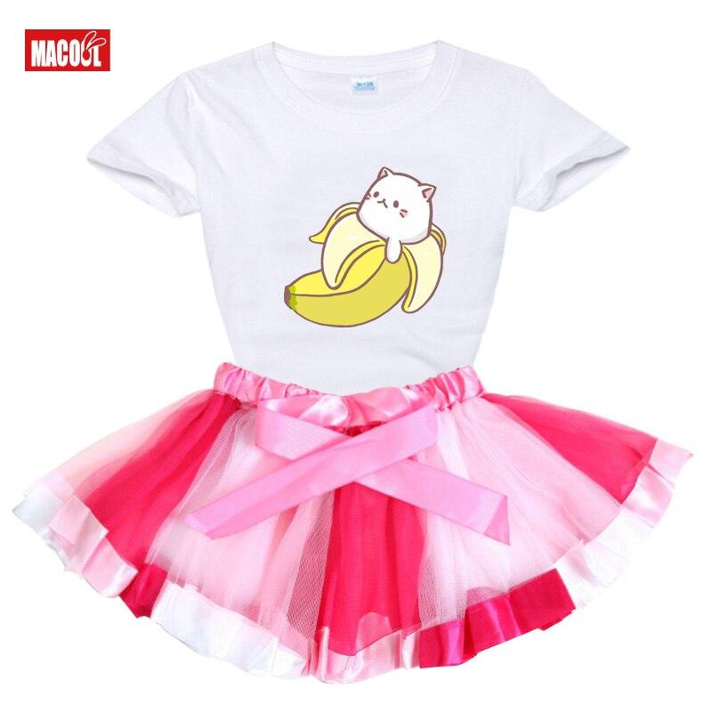 Летнее платье пачка для девочек вечерние чная одежда маленьких