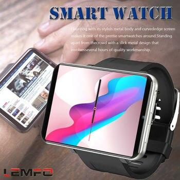 LEM Multifunction 4G Smart Watch 2.86inch 640*480 1GB+16GB/3GB+32GB 5MP Camera 2700mah Android7.1.1 Smartwatch