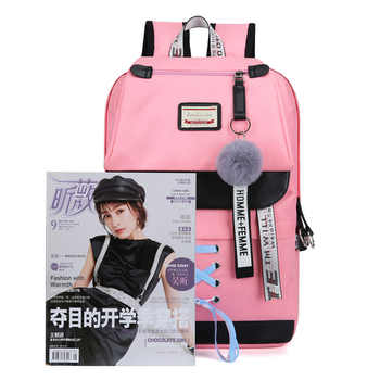 A new backpack for students, usb charging backpacks, Korean version, Korean version couples, large capacity backpacks - DISCOUNT ITEM  29 OFF Luggage & Bags