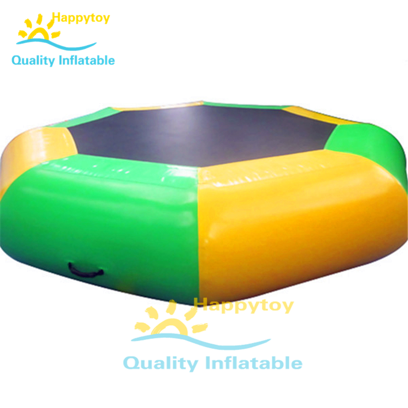 Summer Outdoor Durable Inflatable Floating Water Trampoline