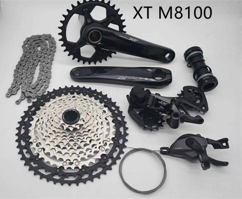 New Shimano Deore XT FC-M8100-1 MTB Crankset 1x12 12-speed 32T//34T//170MM//175MM