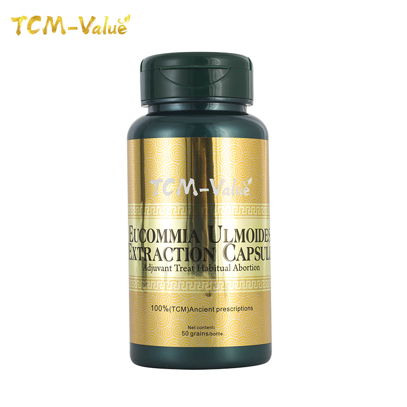 TCM-Value Eucommia Ulmoides Extraction Capsule, Adjuvant Treat Habitual Abortion, Cure Habitual Abortion, Uterine Fibroids 50pcs