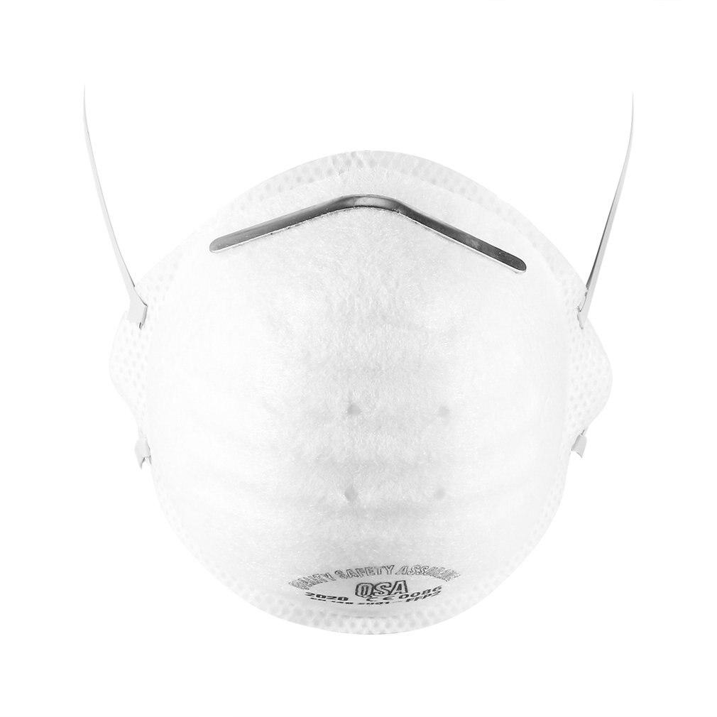 100 шт рот маска против пыли загрязнение маска PM2.5 угольный фильтр вставить промывают многоразовые лицо щит здравоохранение инструмент - 4