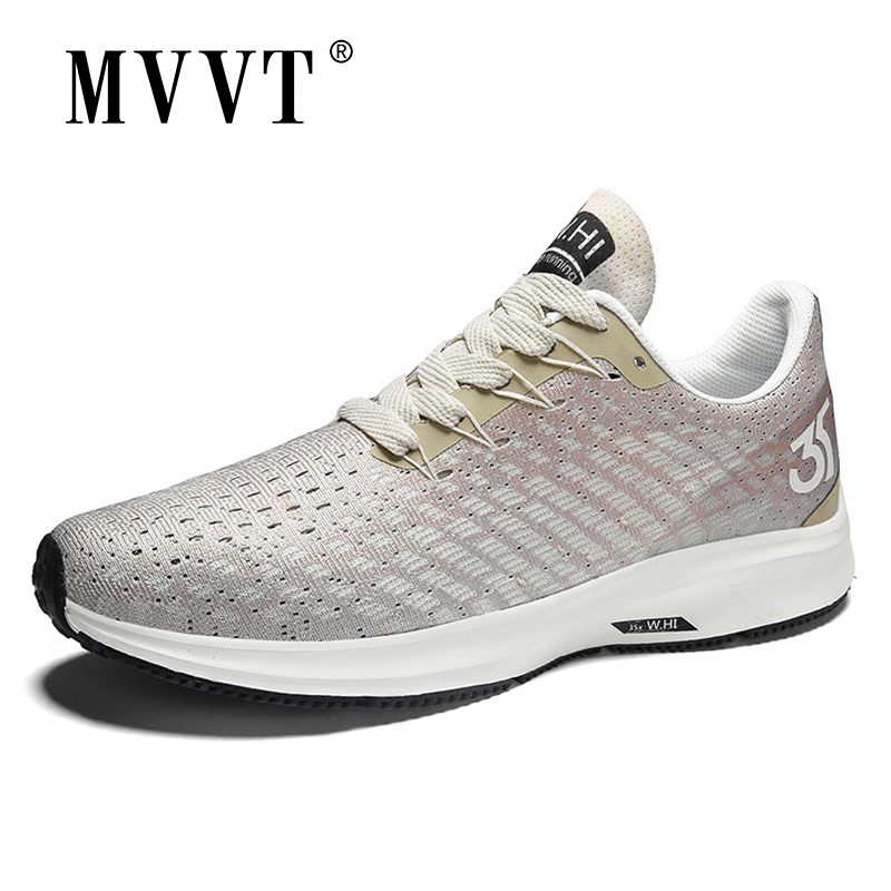 2020 New Spring Breathable Running Shoes Men Fashion Sneakers Summer Outdoor Sport Shoes Professional Training Shoes Plus Size