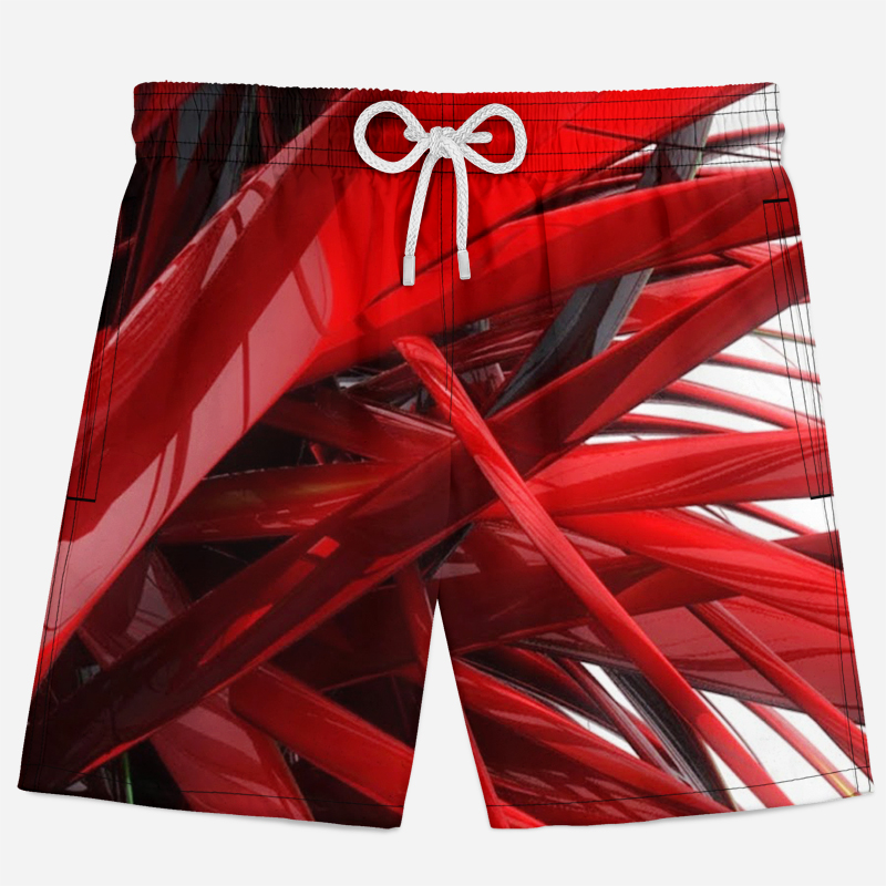 Sky Lightning Mens Funny Summer Beach Pants Breathable Swim Trunks Board Shorts