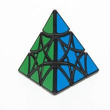 Lanlan звезда JinZiTa пышная гексаграмма черная Cubo Magico развивающая игрушка Прямая поставка