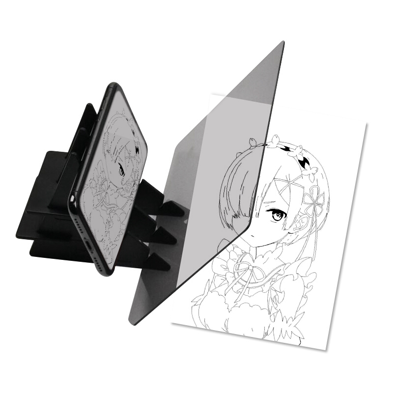 Optical Painting Board Copy Station Stereoscopic Pc Projection Child Fan Clear Painter Portable