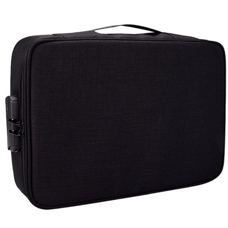 Document Ticket Bag Large Capacity Certificates Files Organizer For Home Travel Use To Store Important Items