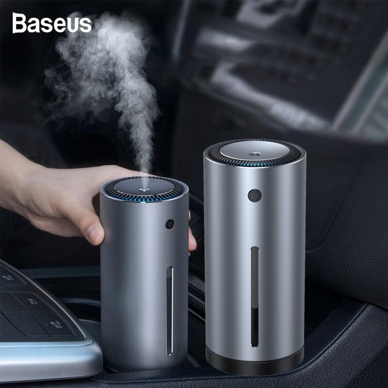 Humidificador de aire Baseus de alta calidad difusor de aceites esenciales de Aroma difusor de aromaterapia de 300ml USB para el purificador de aire de la oficina en casa