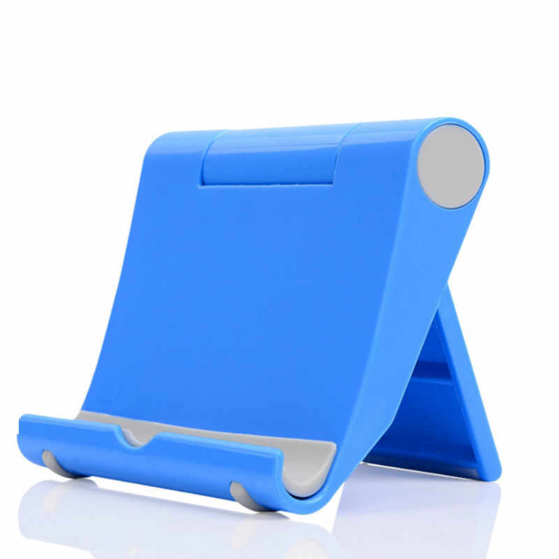 Universal Plastic Smart Phone Holder Mount Stand Base for Smartphone Candy Color Mobile Phone Bracket Holder for All Phone