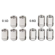 5ชิ้น/เซ็ต Replacement Coil สำหรับ CUBIS/EGO AIO BF SS316 0.5/0.6 Ohm