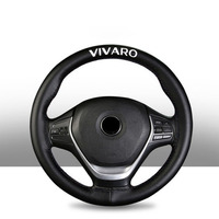 15 Inch Top Genuine Leather Steering Wheel Cover for Opel Vivaro Car Interior Accessories|Steering Covers|   -