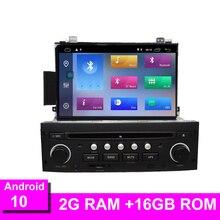 אנדרואיד 10 עבור C5 2005 2012 רכב רדיו DVD נגן ניווט GPS Bluetooth RDS הגה בקרת WIFI GPS navi