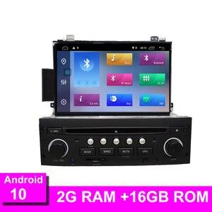 Image 1 - Автомагнитола Android 10 для C5 2005 2012, DVD плеер, GPS навигация, Bluetooth, RDS, управление на руле, Wi Fi, GPS Navi