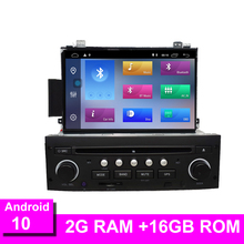 Android 10 For   C5 2005 2012 Car Radio DVD Player GPS Navigation Bluetooth RDS Steering Wheel Control WIFI GPS Navi