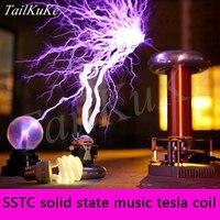 Tesla Coil Artificial Lightning Manufacturer Music Tesla Coil SSTC Tesla Lightning Storm