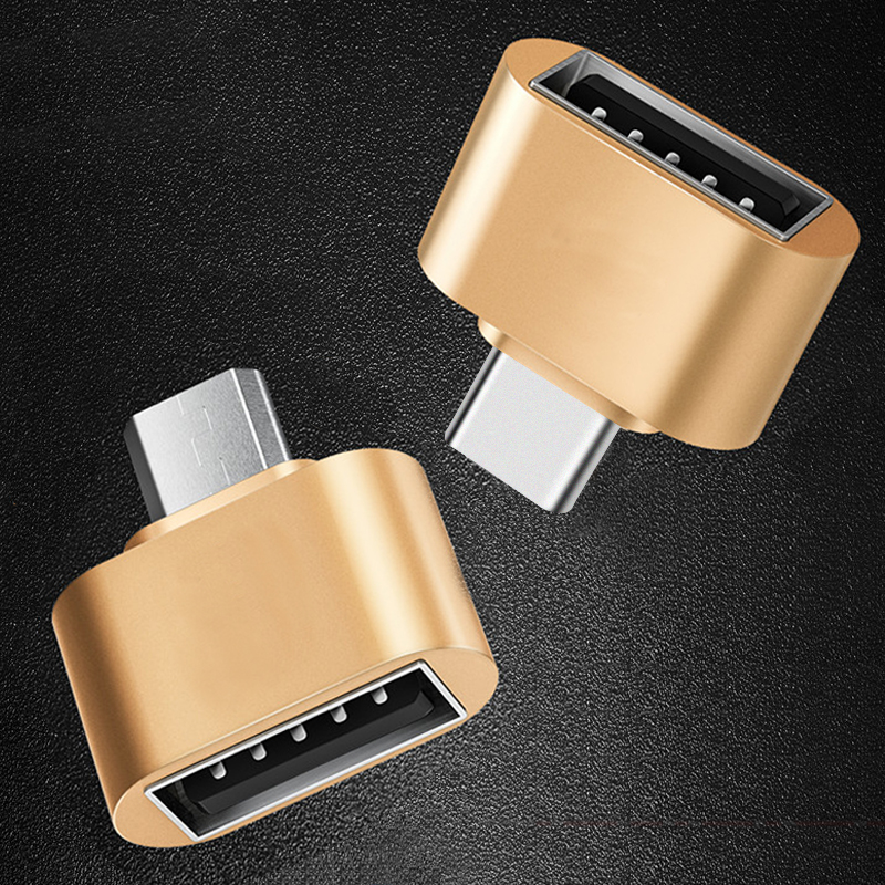 GETIHU OTG Micro USB 2.0 Type C Adapter Converter For Xiaomi Samsung Huawei Type-C Android Connector Mouse Keyboard Flash Disk