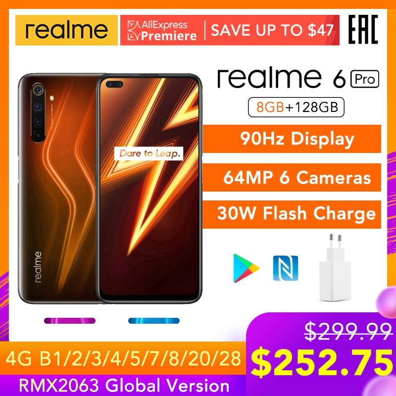 Realme Snapdragon 720G 128GB LTE/GSM/WCDMA NFC Vooc Octa Core Fingerprint Recognition