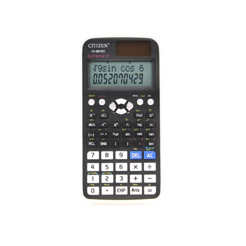 10 Digital Scientific Calculator 240 Functions Statistics Mathematics 2Line Display 991EX For Student School Undergraduate