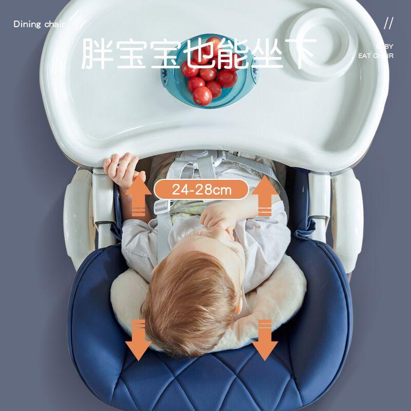 Роскошный мульти-Функция лежающие детские стульчик для кормления с Колеса детский обеденный стол кресло детское кресло для сна легкая установка 2