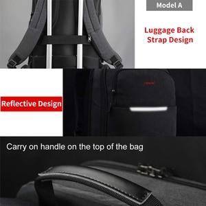 Image 3 - Tigernu Big rabat Casual Men 15.6 cala z zabezpieczeniem przeciw kradzieży plecak na laptopa torba moda plecak z USB męski plecak szkolny dla mężczyzn
