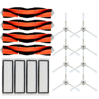 4 HEPA Filter + 4 Side Brush + 2 Main Brush for Xiaomi MI Robot Vacuum 2 Roborock S50 S51 Vacuum Cleaner Parts Accessories