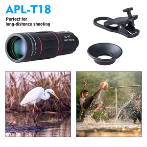 Image 2 - APEXEL 18X Telescope Zoom Mobile Phone Lens for iPhone Samsung Smartphones universal clip monocular Camera Lens
