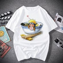 Camisa de moda japonesa anime t men sasuke engraçado dos desenhos animados camiseta casual legal streetwear tshirt casal hip hop topo camiseta masculino