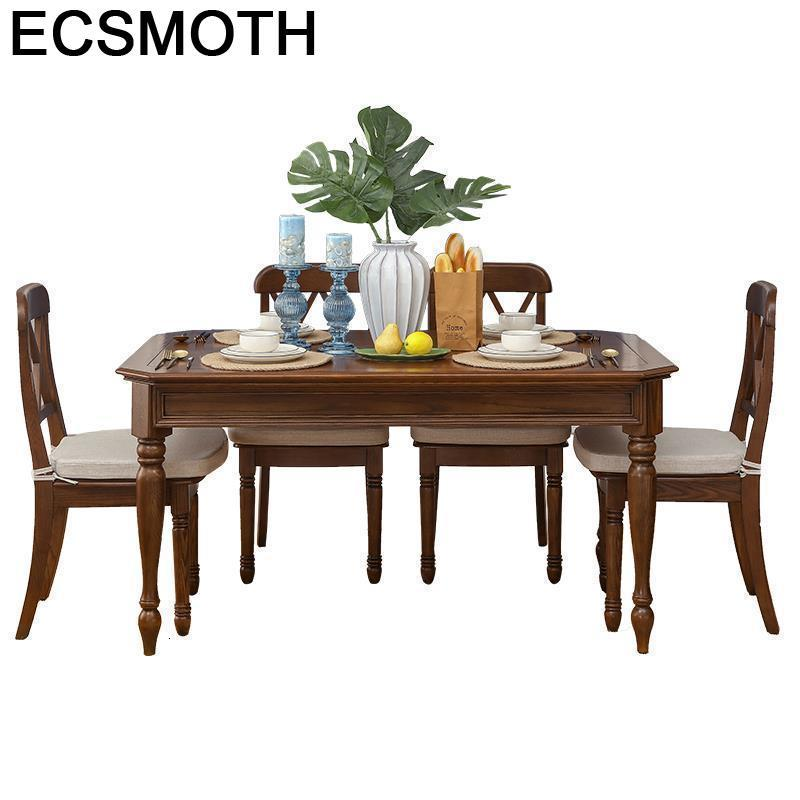 A Manger Moderne Sala Comedores Mueble Piknik Masa Sandalye Pliante Tafel Wooden Comedor Mesa De Jantar Tablo Desk Dining Table