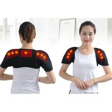 Self Heating Shoulder Back Support Breathable Thermal Wrap P