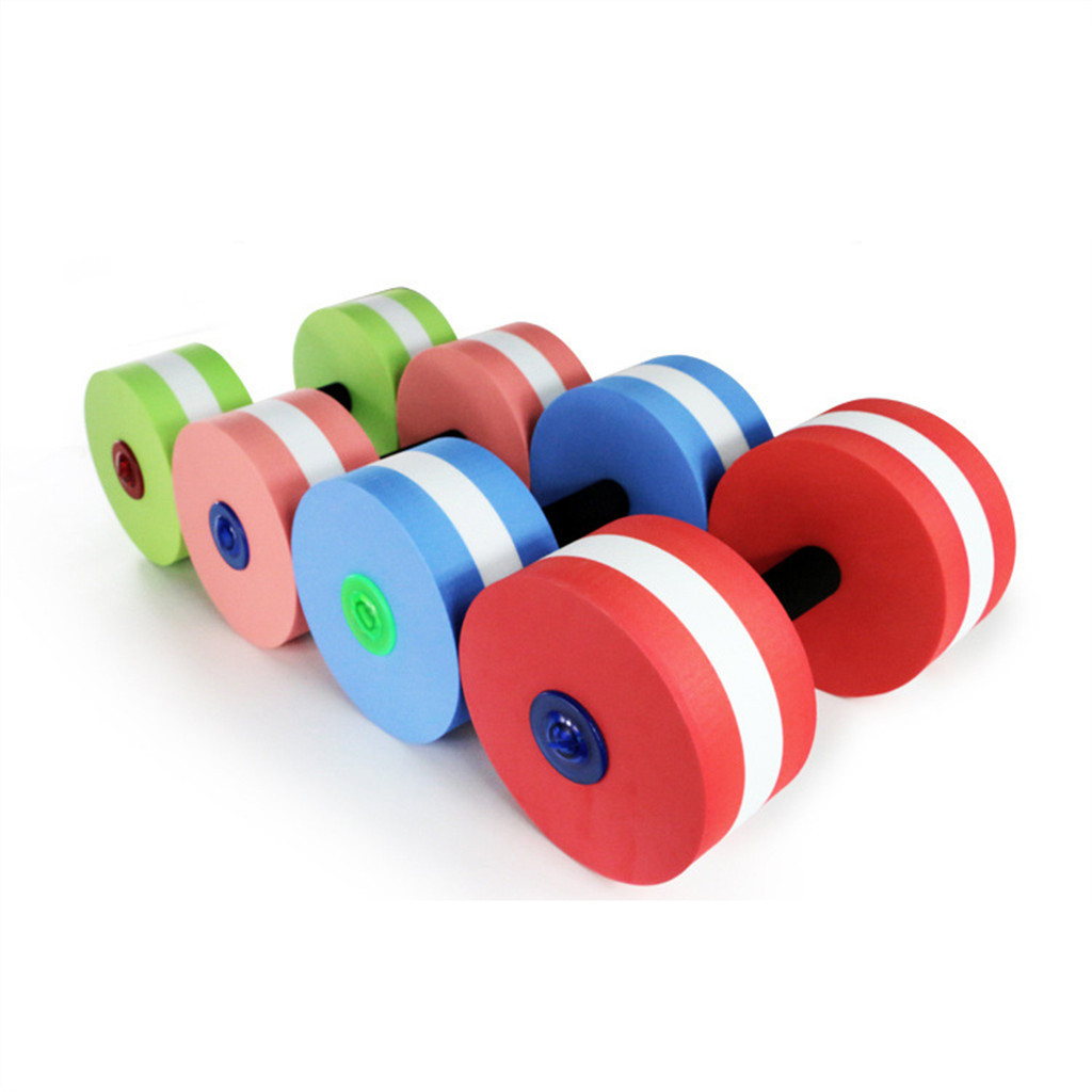Cross Border New Products DIY Water Dumbbell Eva Floating Dumbbell Outdoor Swimming Product Deconstructable Dumbbell Currently A