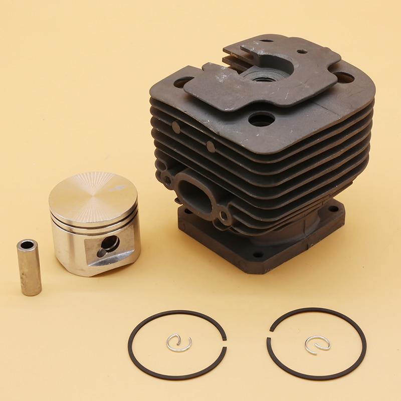 Garden Tools 42MM  amp  44MM Cylinder Piston Set Fit For Stihl FS450 FS480 FS 450 480 Grass Trimmer Cutter Spare Parts