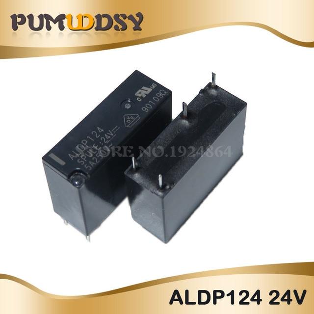 5 PIÈCES Relais ALDP105 ALDP112 ALDP124 5V 12V 24V 5A 250V DIP4 Nouveau et