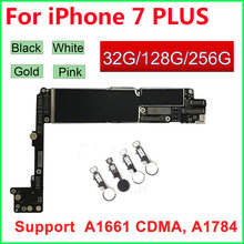 Für iphone 7 Plus Motherboard Fingerprint Touch Id,100% Original Entsperrt Logic boards 32GB 128GB 256GB