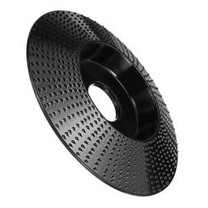 Image 2 - 110mm ahşap taşlama tekerlek açılı taşlama disk ahşap oyma disk zımpara aşındırıcı aracı için 16mm 22mm çap