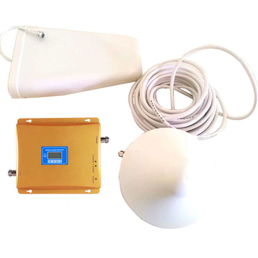 VOTK GSM BOOSTER 3G GSM SIGNAL REPEATER GSM900MHZ WCDMA 3G 2100MHZ DUAL BAND SIGNAL BOOSTER AMPLIFIER