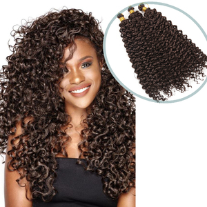 Freetress, волнистые, вязаные волосы, синтетические, плетеные волосы для наращивания, водная волна, косички, блонд 613, пряди, афро, кудрявые, твист,...