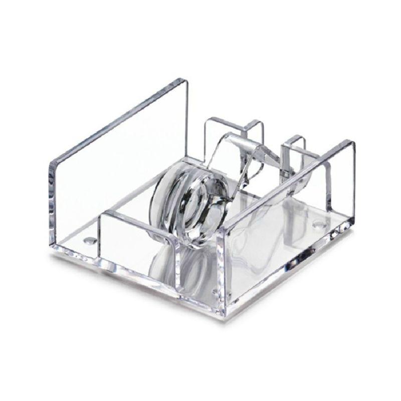 Квадратный из прозрачного акрила держатель для коктейльных салфеток диспенсер для бумажных салфеток коробка для салфеток бар Caddy для обеденного стола Отель домашний декор - Цвет: Clear