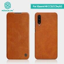 Cho Xiaomi Mi A3 Ốp Lưng Xiaomi Mi cc9e NILLKIN Vintage Tần Flip Cover PU da MÁY TÍNH Cho Xiaomi Mi CC9 ốp lưng 6.39