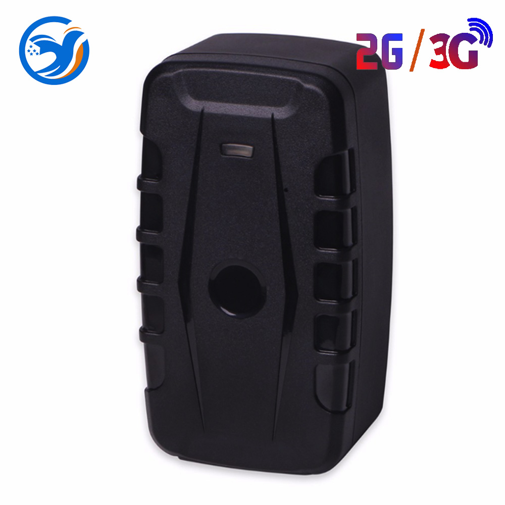 GPS Waterproof Magnet Voice Monitor Free APP Tracker Car 2G 3G <font><b>LK209C</b></font> 20000mAh 240 Days Standby 2G Vehicle Tracker GPS Locator image