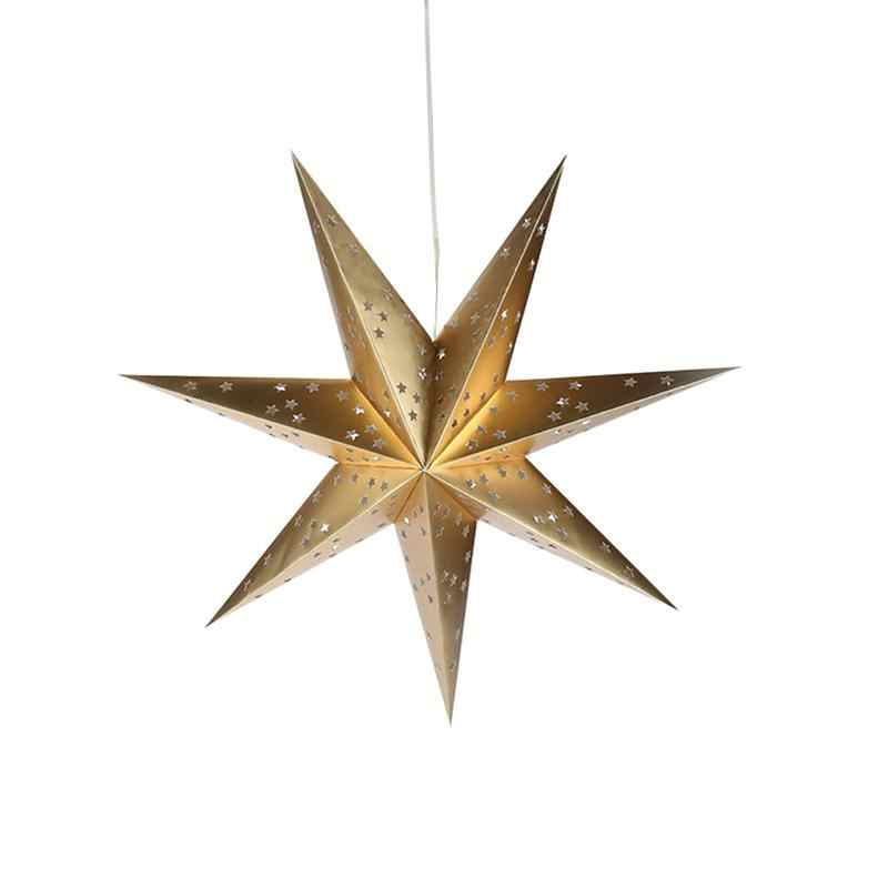 Hanging Paper Star Festival Lampshade Paper Lantern Hanging Star Home Decors